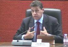 Xavier Beulin, lors d'une séance conjointe conseil régional/CESER en octobre 2014.